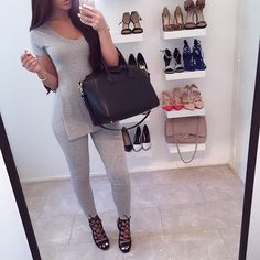 Denise Melissa @denisemelissa_ Grey look Email...Instagram photo | Websta (Webstagram)