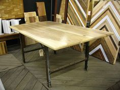 RX Made Ash Table by rebuildingexchange, via Flickr