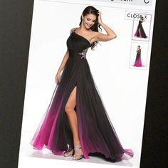 Ombre colors dress size