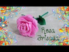 Rosas de foamy elaboradas sin termoformas plasticas - YouTube
