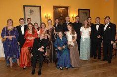 Habsburgs celebrating Otto von Habsburg's 95 birthday, Munich, 2007