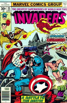 marvels the invaders | Elseworlds Finest: THE CRUSADERS : THE INVADERS & FREEDOM FIGHTERS ...