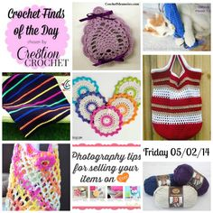 Cre8tion Crochet's Finds of the Day for Friday May 02 2014 #cre8tioncrochet #dailycrochetfinds