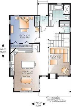 Rez-de-chaussée Chalet champêtre panoramique, 2 à 3 chambres, foyer double face, mezzanine, garde-manger - Bellevue