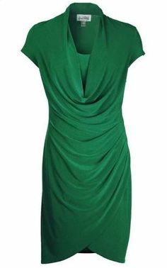 Joseph Ribkoff Emerald Green Dress.