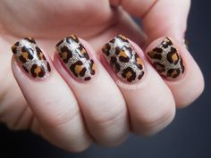 nails leopard - Buscar con Google