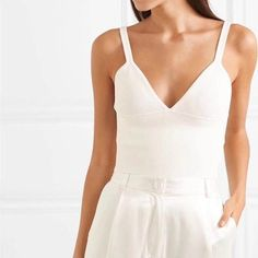 Spring and summer fashion women clothes high quality V-neck sleeveless sexy Tank 34.99 CAD Women's Summer Fashion, Camisole Top, V Neck, Clothes For Women, Tank Tops, Spring, Womens Fashion, Sexy, Collection