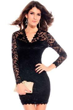 Annabel Victorian Lace Dress - OASAP.com