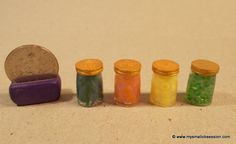 Miniature Dollhouse Jar Tutorial