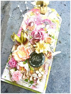 Wild Orchid Crafts: A fairy tag