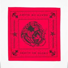 Red Tiger Bandana by Sailor Jerry