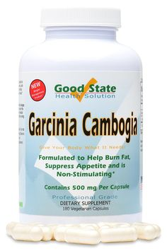 Good State Garcinia Cambogia Extract 500mg Vegetarian Capsule - 180 Capsules ^^ Stop everything and read more details here! : Garcinia cambogia