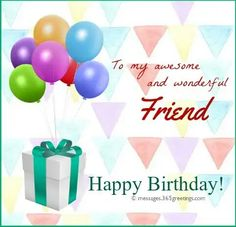 Here are the best birthday wishes for friend that you can use to make your friend's birthday extra special. These happy birthday wishes for friend are since Happy Birthday Quotes For Friends, Birthday Wishes For Friend, Wishes For Friends, Birthdays, Baby Shower, Invitations, Messages, Gifts, Celebrations