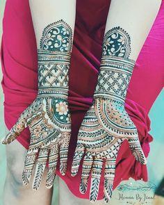 Bridal Henna Mehndi Designs for Full Hands Modern Mehndi Designs, Bridal Henna Designs, Mehndi Design Photos, Dulhan Mehndi Designs, Mehndi Art, Henna Mehndi, Bridal Mehndi, Henna Art, Mehendi