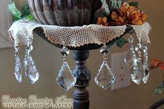 Creative Country Mom's: Bits of Vintage Bling For Fall...
