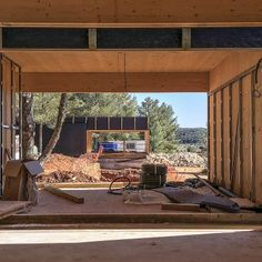 Ca l'Amo - Marià Castelló · Architecture Wood Cladding Exterior, Dry Stone, Mountain Modern, Wood Laminate, Countryside, New Homes, Landscape, Architecture, Building