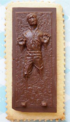Han Solo in Carbonite | Community Post: 25 Wonderfully Geeky Cookies