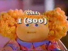 Crimp 'n Curl Cabbage Patch Kids Ad 1 (1993)