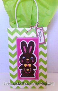Quick Easter Treat Bag