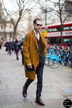 Justin O'Shea || Streetstyle Inspiration for Men! #WORMLAND Men's Fashion