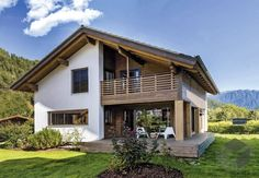 Village House Design, Village Houses, Rest House, House In The Woods, Stommel Haus, Open Floor Concept, White Room Decor, Fairytale Cottage, Garden Cottage