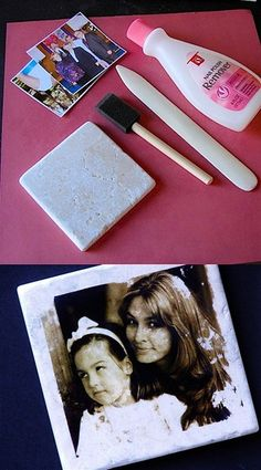 I've discovered a cool method of transferring your photos onto tiles to create unique home decorations! This simple technique allows you to transfer your favorite pictures to tiles to keep for yourself or give away as gifts.The detailed instructions