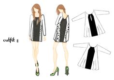 outfit 8 | design by Martina Picotti #fashion #illustration