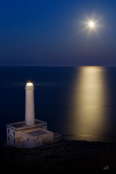Lighthouse by damiano malorzo, via 500px