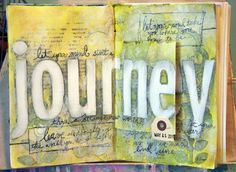 Donna Downey art journal
