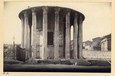 Temple of Vesta Rome Italy c1890s