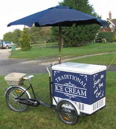 Brand New Traditional Ice Cream Tricycle Stop Me & Buy One Trike/Bike/Cart/Van