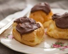 Petits choux à la vanille et au Nutella (facile, rapide) - Une recette CuisineAZ