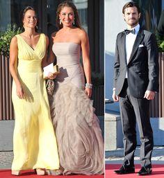 El príncipe Carlos Felipe y Sofía Hellqvist, dos enamorados 'separados' por las circunstancias
