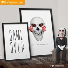We all SAW Billy the Puppet as the scary puppet that has appeared in the Saw movies. It has become the iconic symbol of the Jigsaw Killer. Get Billy here. Billy The Puppet, Poster Poster, Puppets, Scary, Symbols, Game, Blog, Venison, Icons