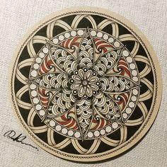 Zendala 053116.  #zendala #mandala #zentangle #zendoodle #doodle #doodleart #drawing #draw #art #artwork #painting #sketch #sketchbook #tantiles #mandalala #mandalalove #mandalaart #mandalaartist #mandalapassion #zentangleart #zentangleinspiration #learnzentangle #zenart #beautiful_mandalas #tangle