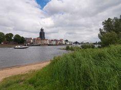Rivier bij Deventer in Overijssel