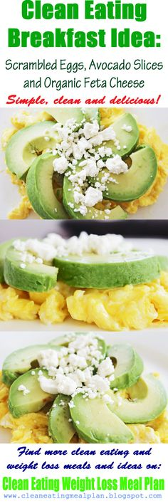 Cortina avocado scrambled eggs