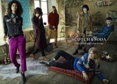Scotch & Soda Unveils Its First Advertising Campaign