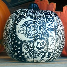 "White Halloween Pumpkin with One of a Kind 'Whimsical Wandomness""! Introductory price good UNTIL October 10th!! on Etsy, $20.00"