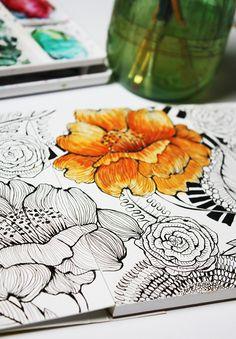 alisaburke: a peek inside my sketchbook