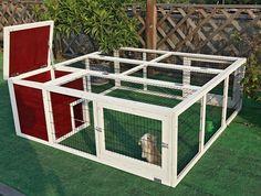 Rabbit Pet Lover: Outdoor Rabbit Hutch Outdoor,Chicken Coop