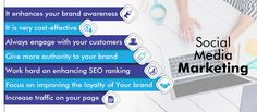 Social Media Marketing is an effective key to get more leads and conversions.Here are the benefits of Social Media Marketing that increase your ROI and boosts the website traffic of your business. Social Media Marketing Companies, Seo Ranking, Advertising Agency, Growing Your Business, Social Platform, Work Hard, Online Business, Software, Author