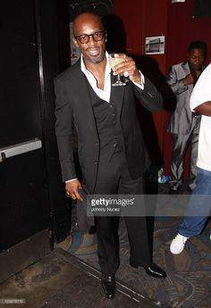 R&B singer Joe Thomas and photographer Ronnie Wright attend B. Joe Singer, Ralph Tresvant, Joe Thomas, New Jack Swing, Fine Black Men, Casual Outfits, Men Casual, Candy Apples, Rock Stars
