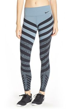 cf3c0e5dc26d4 Nike 'Legendary' Print Dri-FIT Tights available at #Nordstrom Nike Boots,