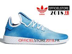 sale retailer fde87 7e3a3 Adidas Chaussures Homme Pharrell Williams Tennis Hu Pk Prix Pas Cher Bleu  DA9618-DA9618-