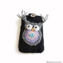 Abalone og STRIKKEBEA - Epla Crochet Earrings, Christmas Ornaments, Holiday Decor, Xmas Ornaments, Christmas Jewelry, Christmas Baubles