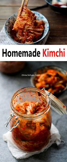 Homemade Kimchi | ChinaSichuanFood.com