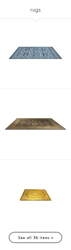 """""""rugs"""" by loves-elephants ❤ liked on Polyvore featuring rugs, furniture, interior, carpets, decor, home, floors, floor, carpet and flooring"""