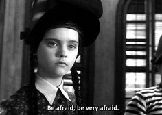 The time she took the phallic blowtorch and reclaimed it for all womankind. | 19 Times Wednesday Addams Was A Total Misandrist