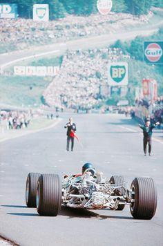 #21 Jim Clark...Team Lotus...Lotus 49...Motor Ford Cosworth DFV V8 3.0...GP Belgica 1967